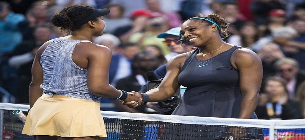 Serena Williams defeated Naomi Osaka for the first time in three meetings as she avenged her US Open final loss. (Image credit: Twitter)