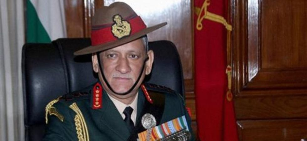 Army chief General Bipin Rawat (Photo Credit: Twitter)