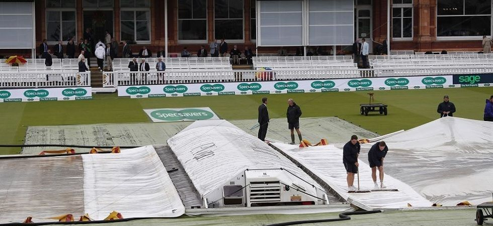 With rain still lashing an increasingly gloomy 'home of cricket', tomorrow's game is also under threat.