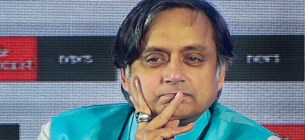 Chief Metropolitan Magistrate Dipanjan Sen issued a bailable warrant against Shashi Tharoor. (File Photo:PTI)