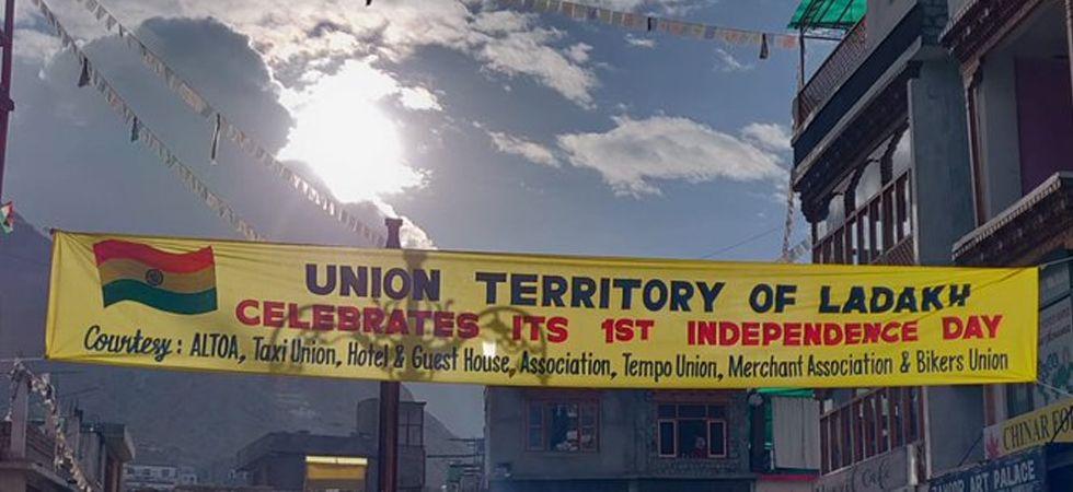 Image tweeted by Ladakh MP Jamyang Tsering Namgyal