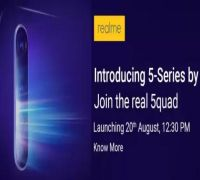 Realme 5 with 5,000mAh battery, Realme 5 Pro with VOOC 3.0 fast charging confirmed: Launch on Aug 20
