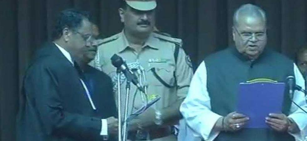 Talking about his one-year administration, Malik said he has tried to empower people through grassroots democracy. (Image Credit: ANI)