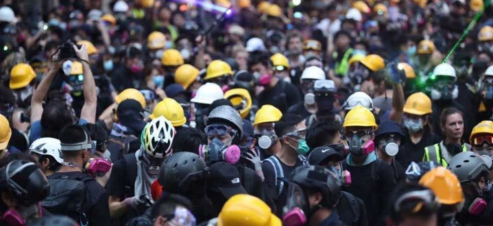 Ten weeks of demonstrations have plunged the international finance hub into crisis. (Photo: Twitter/@HongKongFP)
