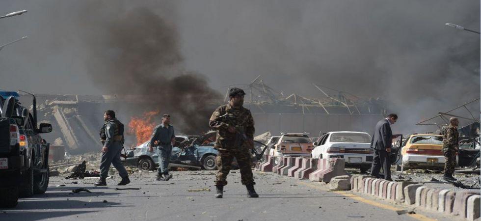 Blast in Afghanistan capital Kabul (Photo Source: PTI)