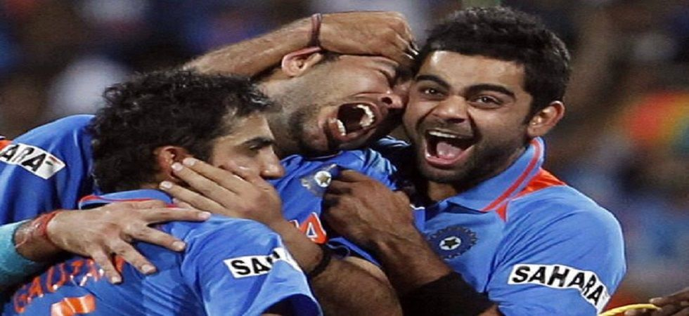 Virat Kohli made his international debut on August 18, 2008 in the five-match ODI series against Sri Lanka. (Image credit: Twitter)