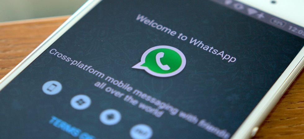 Facebook owned messaging application WhatsApp (File Photo)