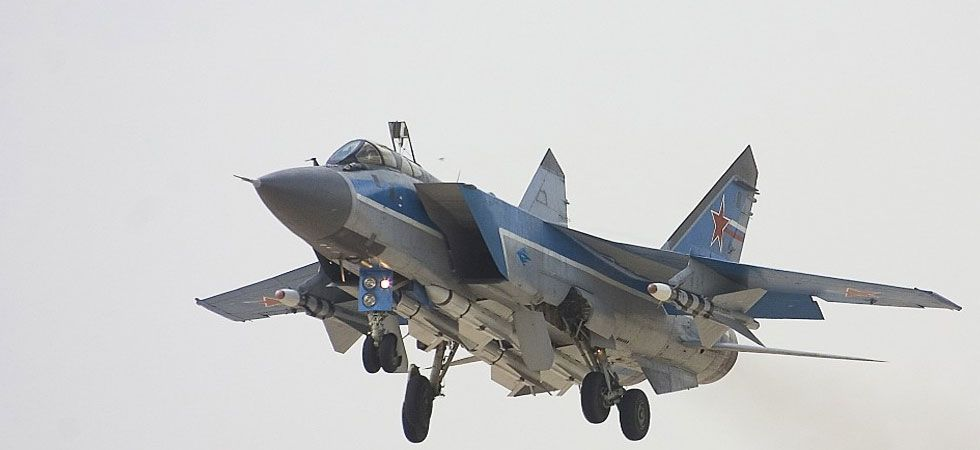 The drill, involving the two twin-seater MiG-31BMs, was conducted to improve the combat skills of the pilots. (Image Credit: www.migavia.ru)