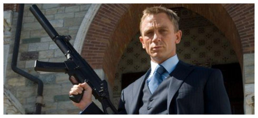 Daniel Craig's Bond 25 named 'No Time To Die' (Photo: Twitter)