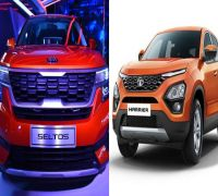 Kia Seltos Vs Tata Harrier: Comparison on Specifications, features, price