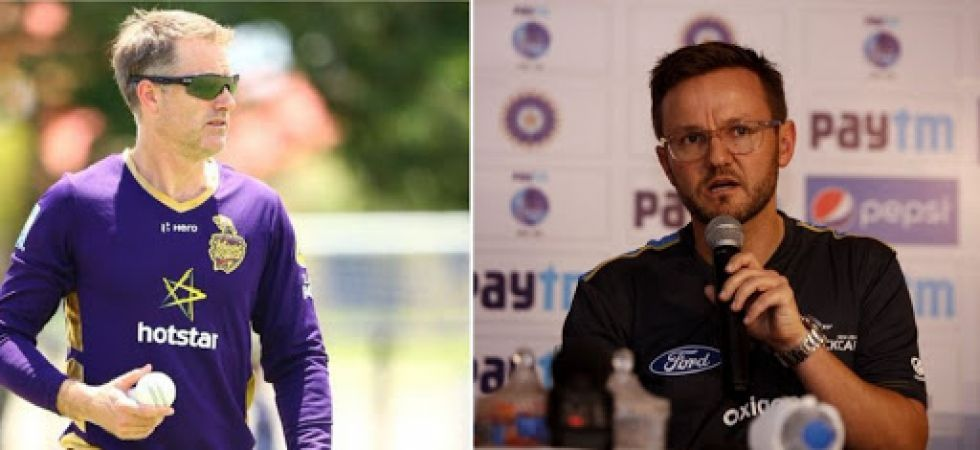 Simon Katich and Mike Hesson will be part of the new support staff for Royal Challengers Bangalore in IPL 2020. (Image credit: Twitter)