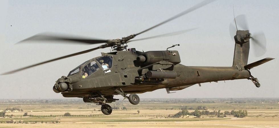 Apache attack helicopter (File Photo)