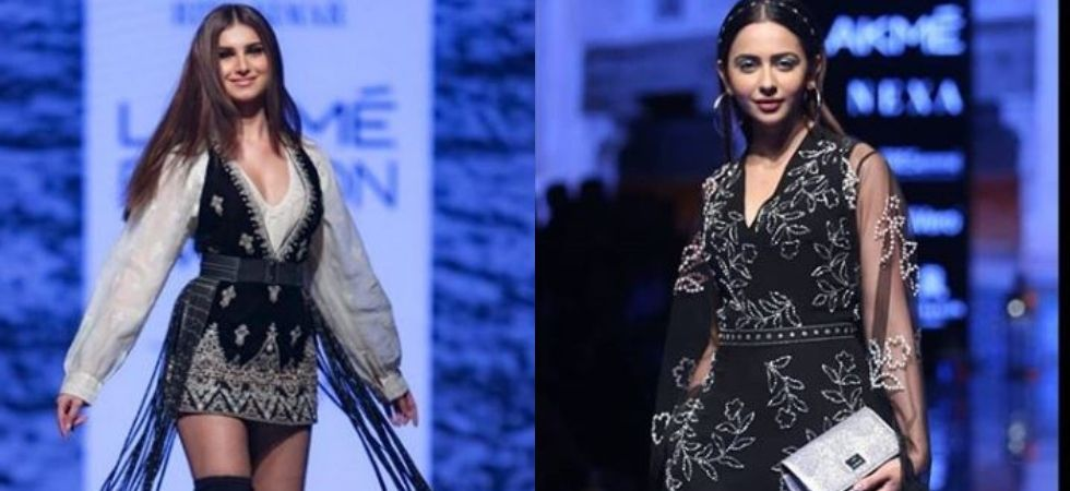 Lakme Fashion Week Day 3: Tara Sutaria, Rakul Preet Singh dazzle at ramp