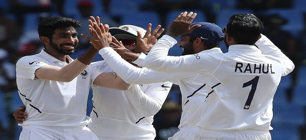 India national cricket team achieved their best result in terms of runs overseas with a 318-run win against the West Indies. (Image credit: Twitter)