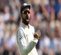 India vs West Indies 1st Test: Virat Kohli surpasses Sourav Ganguly, equals MS Dhoni with Antigua win