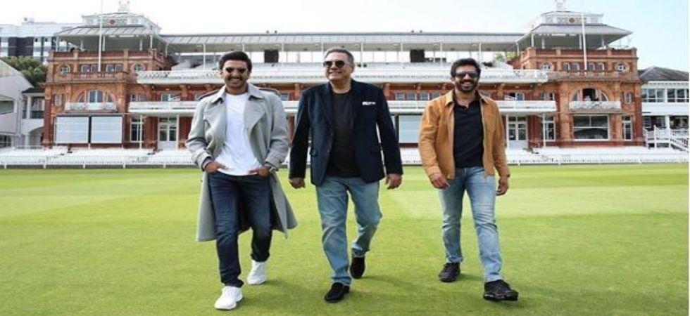 Ranveer Singh with Boman Irani and Kabir Khan (Pic Courtesy: Instagram)