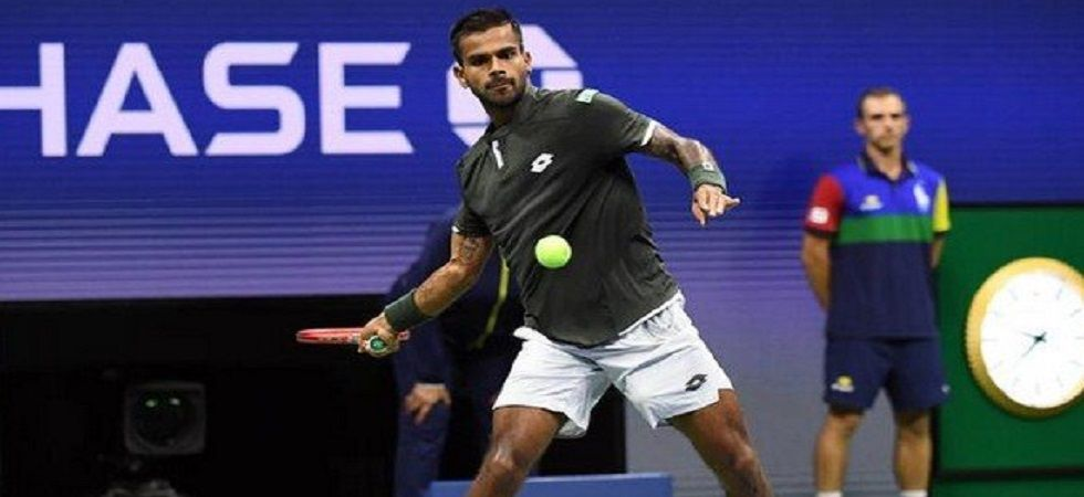 Somdev Devvarman, Yuki Bhambri and Saketh Myneni have managed to win a set in a Grand Slam main draw before Sumit Nagal in the last two decades. (Image credit: Twitter)