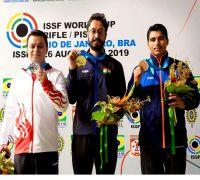 Abhishek Verma Wins Gold, Saurabh Chaudhary Settles For Bronze In 10m Air Pistol Event
