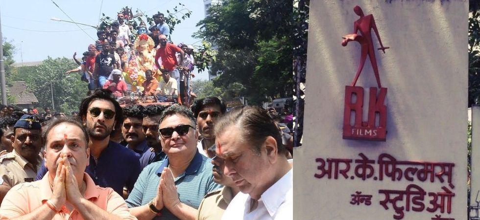 Kapoors at Ganesh Chaturthi (Photo Credit: Twitter)