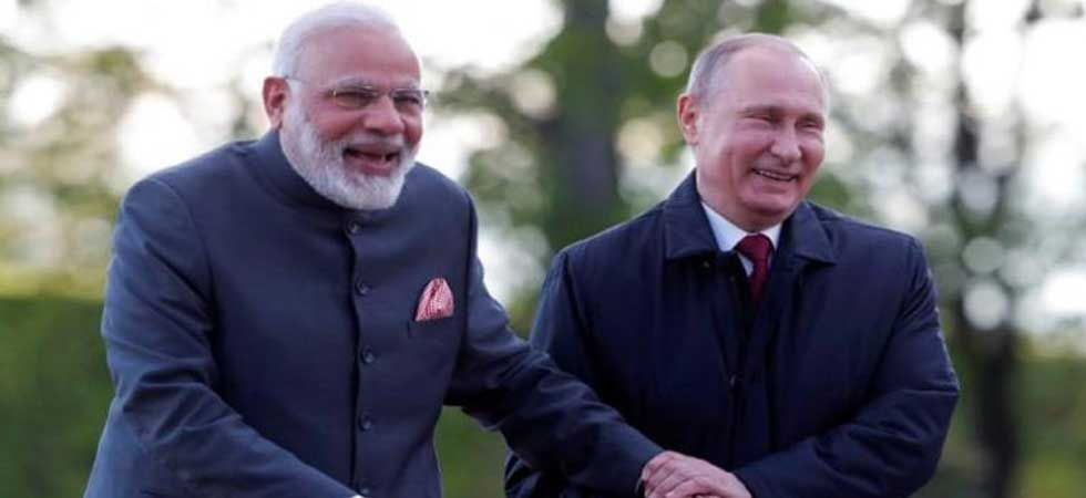 "PM Modi said he shares a ""special chemistry"" with Russian President Putin. (Photo: PTI)"