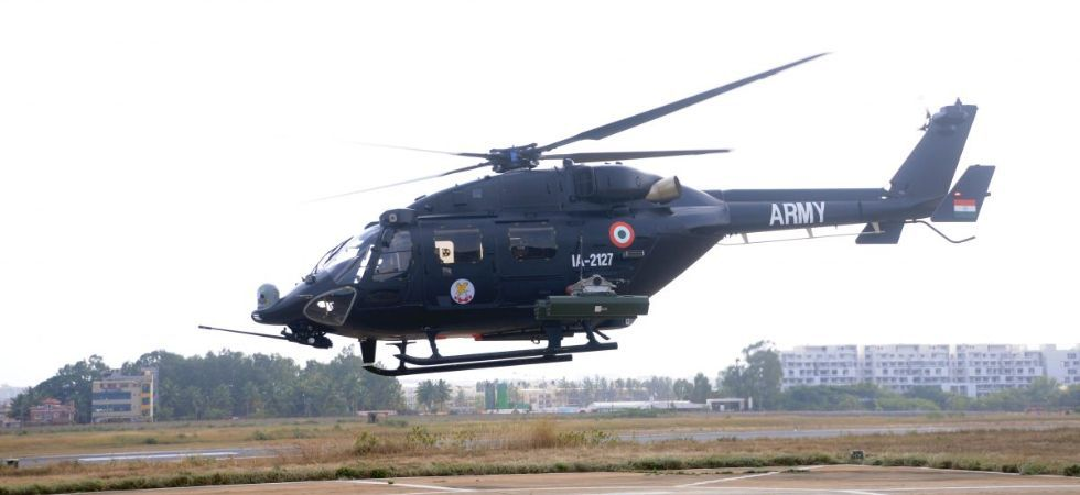 The helicopter embarked on a 3000 km flight from Bengaluru to Leh. (File Photo)