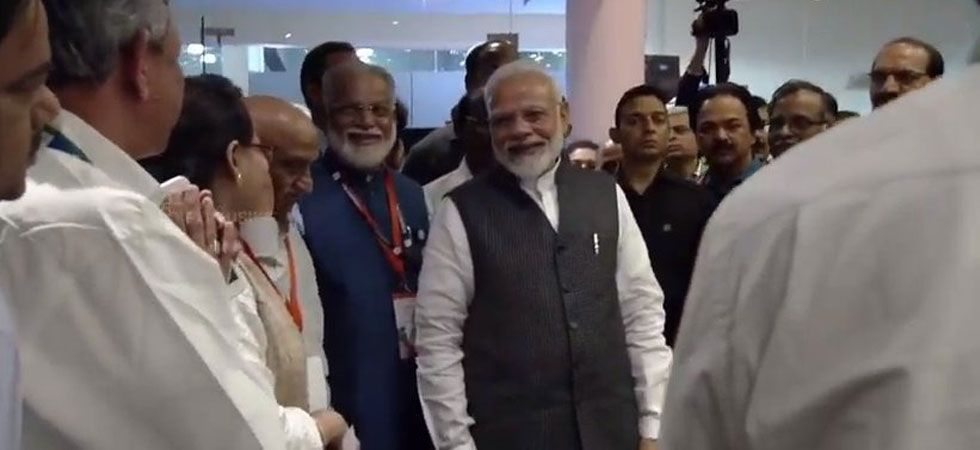 'Nation is proud of you, be courageous': PM Modi to crestfallen ISRO scientists