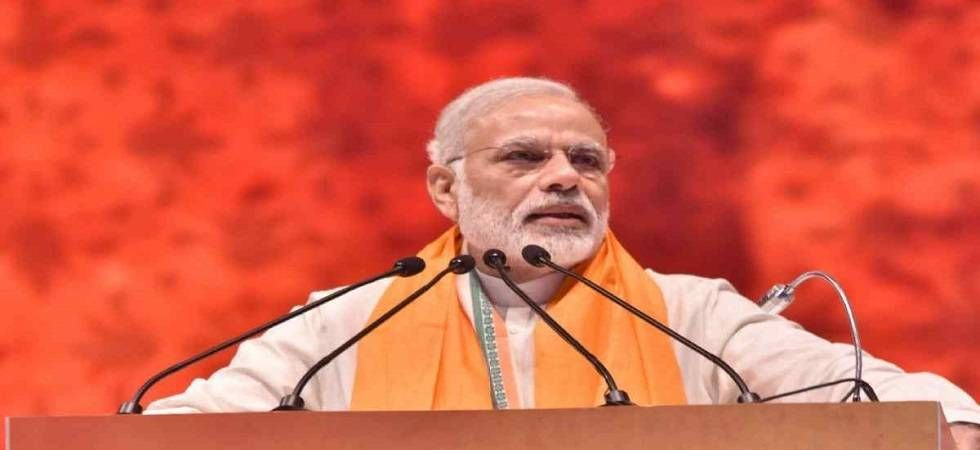 PM Modi addressed a rally in Haryana's Rohtak on Sunday (Image: PTI)