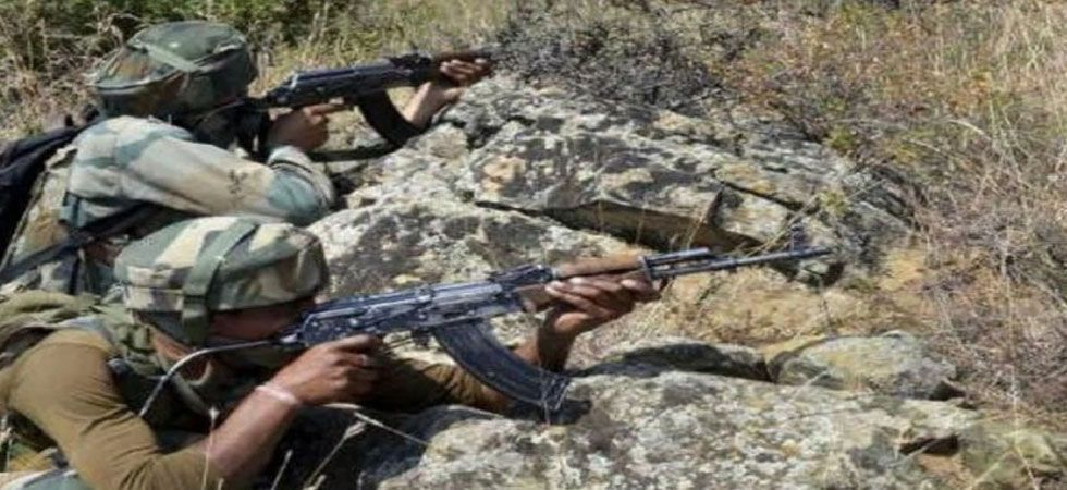 The firing of small arms and shelling with mortars started in Sunderbani and Nowshera sectors