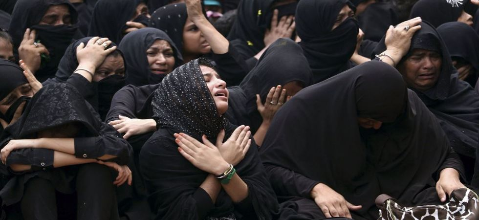 Religious procession on the day of Ashura in Ajmer (Photo Source: PTI)