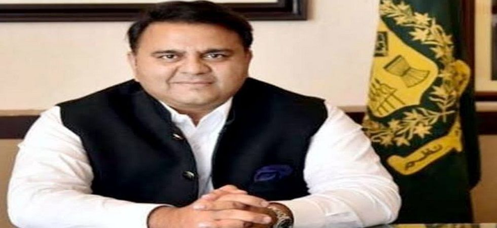 Pakistani Science and Technology Minister Fawad Hussain Chaudhry