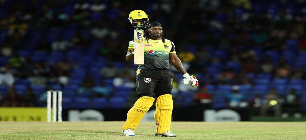Chris Gayle has become the first player in history to hit over 950 sixes in Twenty20s during the Caribbean Premier League clash between Jamaica Tallawahs and St Kitts and Nevis Patriots. (Image credit: Getty Images)