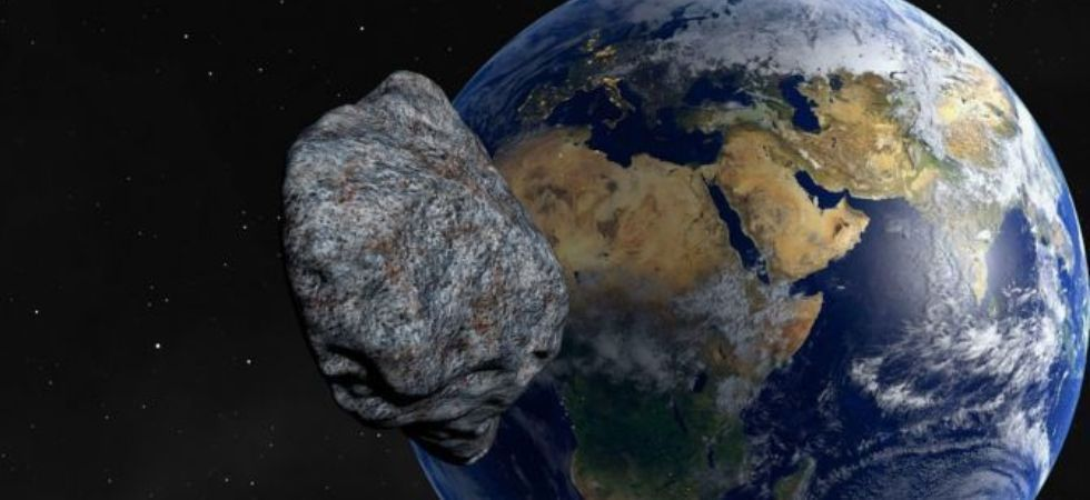 The space rock, measuring between 290 and 650 metres, is larger than The Shard in London.