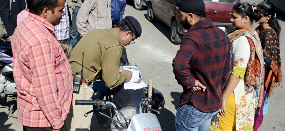 You can get some of your challan cancelled for 100 rupees (Image: IANS)