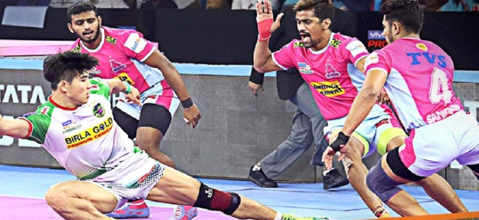 Pro Kabaddi League: Patna Pirates beats Jaipur Pink Panthers 36-33 (Image credit: Twitter/ProKabaddi)