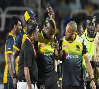Andre Russell Gets Hit By Bouncer In CPL T20, Cleared Of Serious Injury