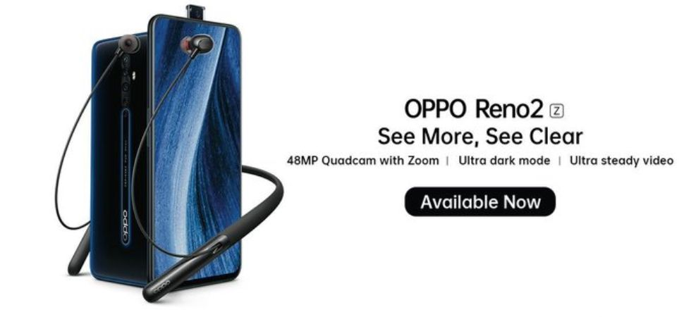 Oppo Reno 2Z available on sale (Photo Credit: Twitter/@sorabh_jangid)