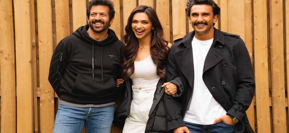 Bollywood actress Deepika Padukone with husband Ranveer Singh and 83 director Kabir Khan (Photo Source: Instagram - @ranveersingh)