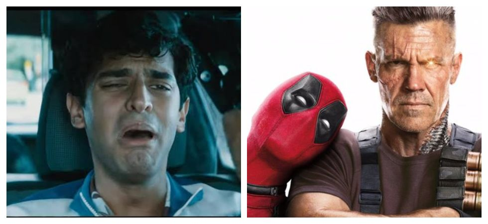 Dopinder Crashes His Own Car To Get Attention From Deadpool And Cable (Photo: Twitter)