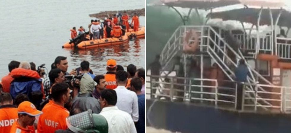 Rescue operations were underway for the missing people. (Photo: Twitter/@AndhraPMC)