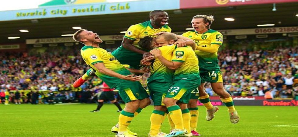 Norwich defeated Manchester City 3-2 and it was the Premier League champions' first loss since January. (Image credit: Twitter)