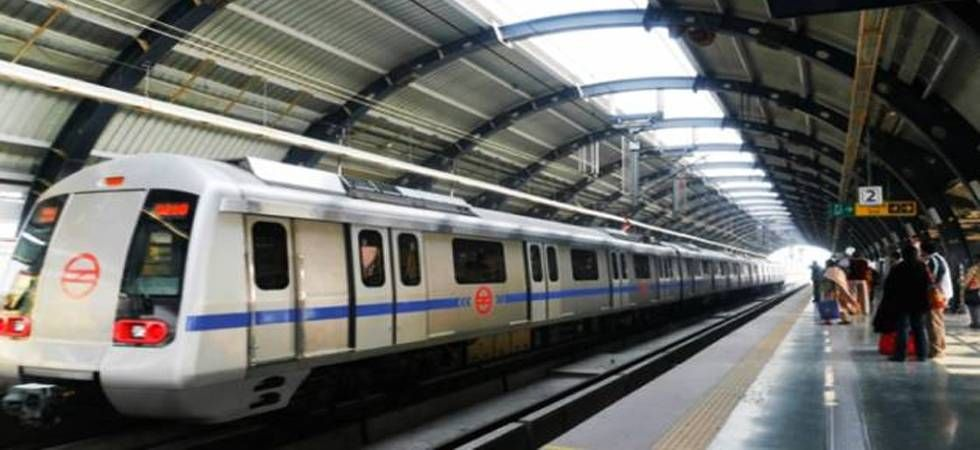 Service on Yellow Line was delayed due to a passenger on track at GTB Nagar