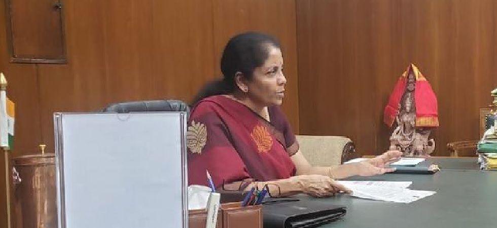 Finance Minister Nirmala Sitharaman (Photo: Twitter/@nsitharamanoffc)