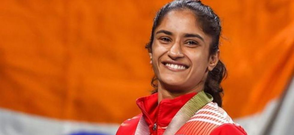 Vinesh Phogat is the first Indian woman wrestler to qualify for Tokyo Olympics (Image: PTI File)