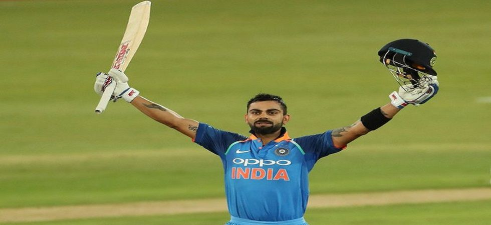 Virat Kohli blasted his 22nd Twenty20 International fifty as India won by seven wickets against South Africa in Mohali. (Image credit: Twitter)