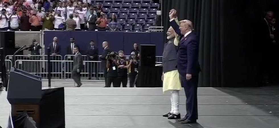 Trump described PM Modi as 'a great man, a great leader and my friend.' (Image Credit: ANI)