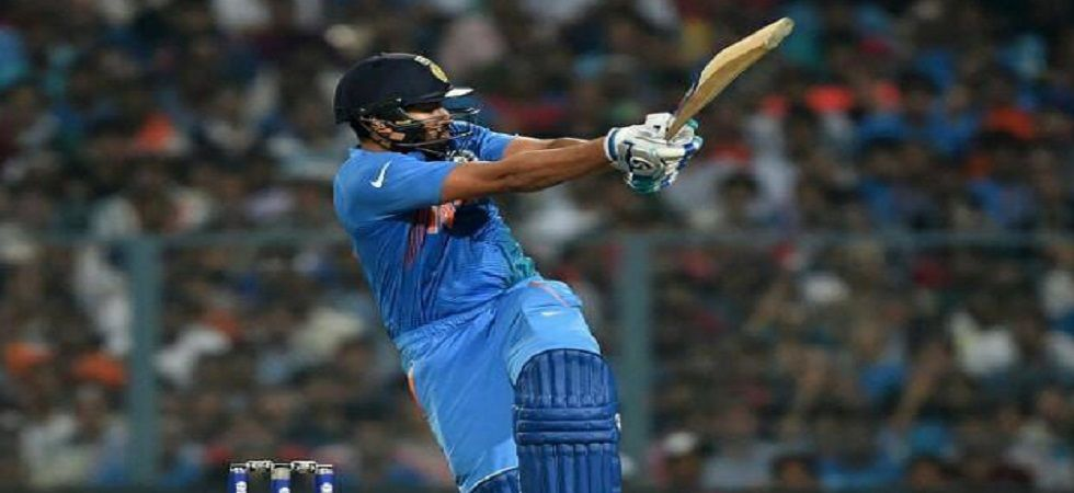 Rohit Sharma has equaled MS Dhoni's record of most Twenty20 Internationals by an Indian cricket team player in the format. (Image credit: Twitter)