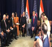 President Donald Trump Calls PM Modi 'Father Of India' On Sidelines Of UNGA Session