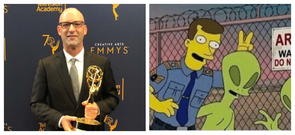 Producer Of The Simpsons' J. Michael Mendel Dies at 54 (Photo: Twitter)