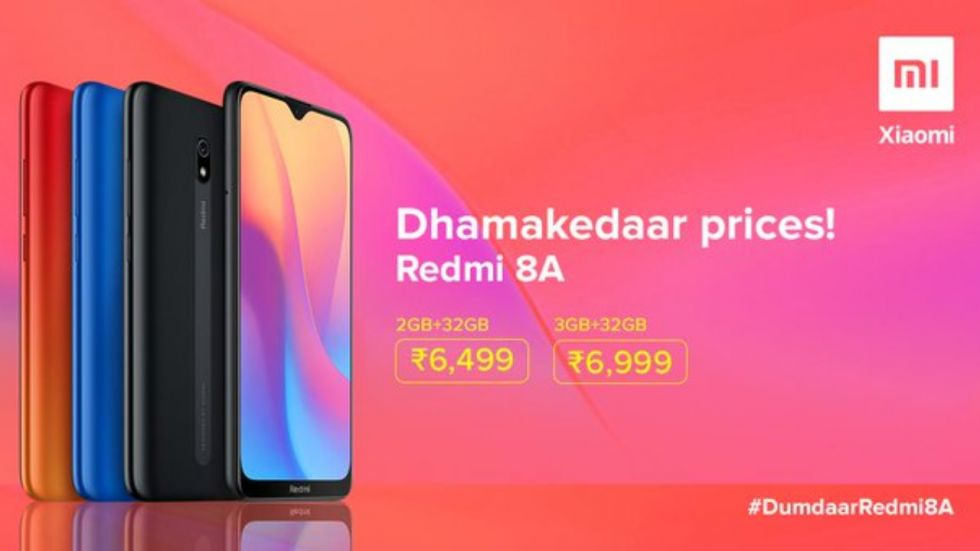 Redmi 8A launched in India (Photo Credit: Twitter/@RedmiIndia)