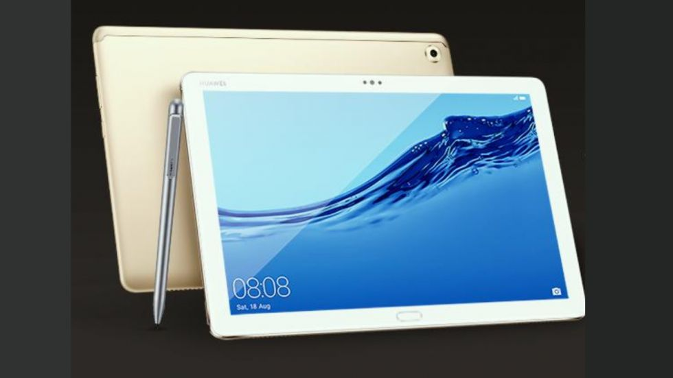 Huawei MediaPad M5 lite Tablet launched in India (Photo Credit: Twitter/@HuaweiIndia)